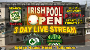 Irish Pool Open 2019 Banner