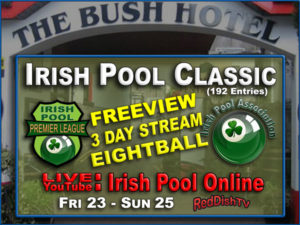 irish pool classic 2019