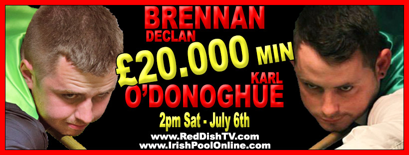 2019 Declan Brennan v Karl O Donoghue Money Match